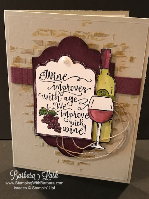 Stampin-up-half-full-embossing-paste-bricks-crumb-cake-fresh-fig-wine-handmade-card