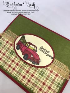 Stampin' Up! handmade Farmhouse Christmas card